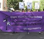 [Heidelberg] Über 70 Menschen demonstrieren für Aufklärung des LKA-Spitzelskandals