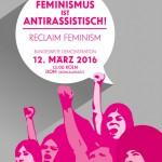 Unser Feminismus ist antirassistisch!
