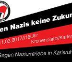 11.3.: Antifa-Demo in Karlsruhe
