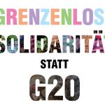 Bus zur G20 Demo in Hamburg