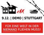 9.12.: Demo gegen Abschiebungen in Stuttgart