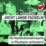 23.2.: Nazi-Fackelmarsch in Pforzheim verhindern!