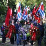 1.11.: Gedenkveranstaltung auf dem Bergfriedhof
