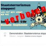 Pressemitteilung zur Klage gegen das Demoverbot in Mannheim 2017