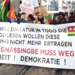 """15.2.: Demo """"Für Demokratie und Gerechtigkeit in Togo!"""""""
