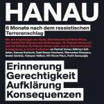 22.8.: Gedenkdemonstration gegen die rassistischen Morde von Hanau